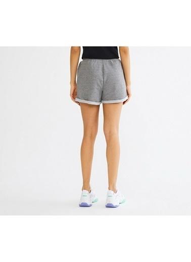 Skechers Skechers S201045036 Lightweight Fleece W Fashion Kadın Şort Gri